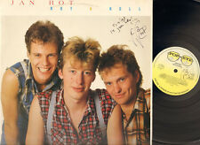 JAN ROT Rot & and Roll LP 1984 SIGNED Autograph HANDTEKENING