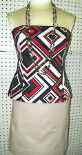 WHITE HOUSE BLACK MARKET sz 0 -- BOLD DIAMOND BUSTIER--NWT--GORGEOUS
