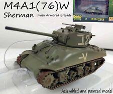 WW2 Israel Armored Brigade M4A1(76) W sherman tank diecast 1/72 Easy model