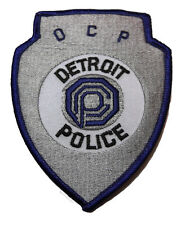 Robocop Movie OCP Detroit Police Logo Embroidered Patch