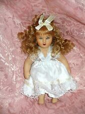 "Victorian style 4 1/2"" Bisque Doll"