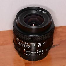 Nikon Nikkor AF D 35-35mm f/2.0 D AF Lens