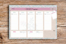 For Notes and More Wochenkalender A5 Block Wochenplaner