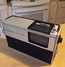 Zenith AC Battery AM/FM/Weather Radio WORKS rare s-19813 vintage NICE!