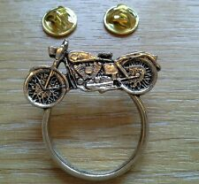 """MOTORCYCLE"" SOLID SUNGLASS HOLDER-BIKER PIN BADGE HD CRUISER -TRIKE RIDER GIFT"