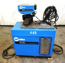 MILLER CONSTANT VOLTAGE DC WELDING POWER SOURCE CP-300, MIG WELDER, W/ S-54E