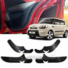 Carbon Door Decal Sticker Cover Kick Protector For KIA 2008-2011 2012 2013 Soul