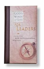 God's Words for Life Gift Bks.: God's Words of Life for Leaders by Zondervan ...