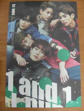 SHINee - 1 And 1 (5th Repackage) [OFFICIAL] POSTER K-POP *NEW*