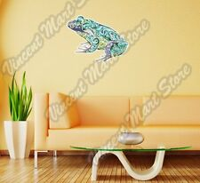 "Frog Bullfrog Abstract Colorful Wall Sticker Room Interior Decor 25""X18"""