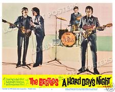 A HARD DAYS NIGHT LOBBY SCENE CARD # 1 POSTER BEATLES LENNON McCARTNEY FAB FOUR