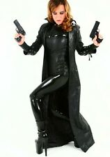 XS S M Genuine Italian Napa Leather Selene Coat Jacket Underworld Cosplay