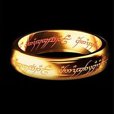 Lord of the Rings The One Ring Lotr Stainless Steel Fashion Men Women Ring Size6