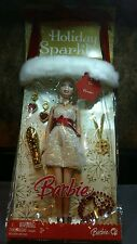 2008 MATTEL BARBIE HOLIDAY SPARKLE DOLL GIFT SET RARE LIMITED EDITION