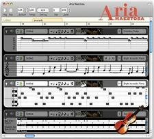 Aria Maestosa - Music/Audio Midi/Sequencer Editor Software Windows PC