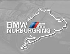 New Nurburgring Race Track Tank Decal Vinyl for BMW Auto sticker white logo