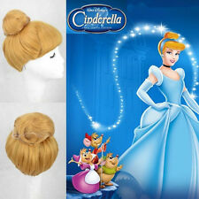Cinderella Disney Princess Sandra Pereira Princess Beautiful Blonde Cosplay Wig
