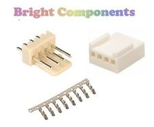 "5x 4-Way 2.54mm / 0.1"" PCB Connector Kit (Molex KK Style) - 1st CLASS POST"