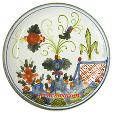 Italian-made Tuscan Country Abstract SMALL Ceramic Plate Handmade Handpainted