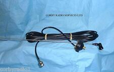 BOOT LID GUTTER MOUNT ANTENNA & HINGED WHIP with BNC TAXI PMR HGV 5 MTS of RG58