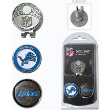 DETROIT LIONS Magnetic Cap Clip with 2 Ball Markers-By: Team Golf