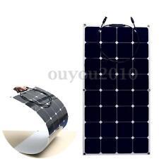 FREE Livraison 100W 100 Watt 18V Module Panneau Solaire Monocristallin Camping