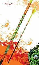 "New Black Eagle Zombie Slayer Carbon Arrows 350 (.003"") & Blazer Vanes 1/2 Dozen"