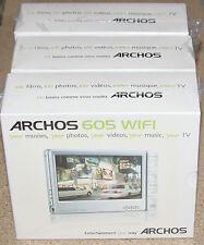 Archos 605 WiFi Silver (30 GB) Digital Media Player. NEW!!! SEALED!!!