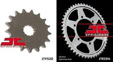 Front & Rear Sprocket Kit for TRIUMPH 800 Tiger XC 11-16 JT Sprockets
