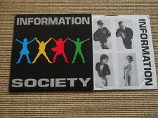 Information Society - LP - OIS - washed /gewaschen - US 1988