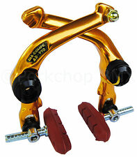 Dia-Compe AD-990 FS-990 front or rear BMX U-brake brake caliper - GOLD