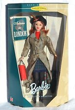 AUTUMN IN LONDON Barbie Doll City Seasons #22257 NRFB 1999 Red hair