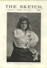 1894 Miss Mabel Love Disguised As Little Christopher Lyric Theatre