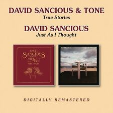 David Sancious - True Stories/Just As I Thought (2016)  2CD  NEW  SPEEDYPOST