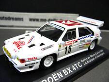 Citroen BX 4tc Rally de Monte Carlo 1986 #15 Andruet total talla B Ixo Altaya bo 1:43