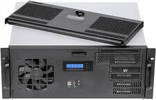 "4U LCD Door (D:14.96"")(EATX)(Rackmount Chassis)(Mini Redundant PSU OK!) Case NEW"