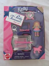 BRAND NEW 1996 PRETTY TREASURES PLAY SET KELLY BABY SISTER OF BARBIE DOLL 16332
