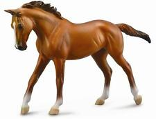 LARGE DELUXE 1:12 SCALE CHESTNUT THOROUGHBRED MARE HORSE MODEL by COLLECTA 88635