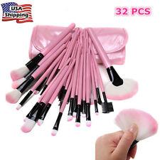 32Pcs Pro Brushes Set Makeup Cosmetic Powder Eyeshadow Lip Brush Foundation Tool