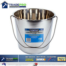 Stainless Steel Bucket with Handle 16Ltr HDuty Premium Quality NewModel 16L 20 P