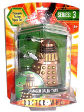 "Dr DOCTOR WHO Series 3 BATTLE DAMAGED DALEK THAY 5"" Action Figure SEALED UK"