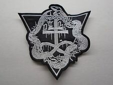 (OTOH) ONE TAIL ONE HEAD BLACK METAL EMBROIDERED PATCH