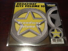 LEGENDS KARAOKE CD+G BROADWAY HITS VOL 10 NEW