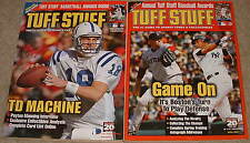Lot of 2 Tuff Stuff Magazine, sports card guide and prices, collectibles prices