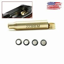 Sighter 223 REM Red dot Laser Bore Sight Cartridge Boresighter 5.56 .223 US Ship