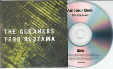 AMATEUR BEST The Gleaners 2015 UK watermarked & numbered 10-track promo test CD