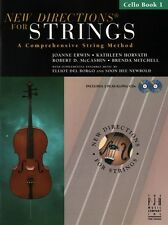 New Directions for Strings, Cello Bk 1 & 2 CDs