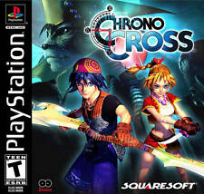 Chrono Cross Black Label - PS1 PS2  Playstation Game Only