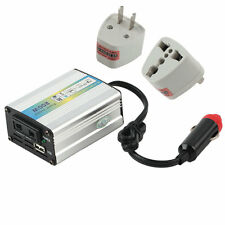 12V DC to AC 220V Car Auto Power Inverter Converter Adapter Adaptor 200W USB GA
