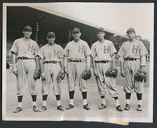 1939-40 EARLY WYNN Pre-Rookie Vintage Baseball Photo HAVANA CUBA STAR PLAYERS!